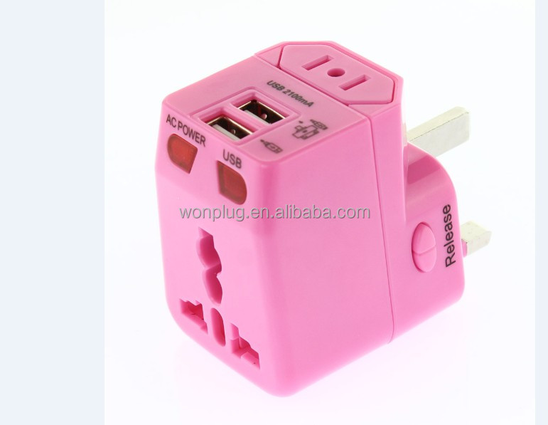 2014 Wonplug patent free samples supplied logo can printed advertisement gifts 2013