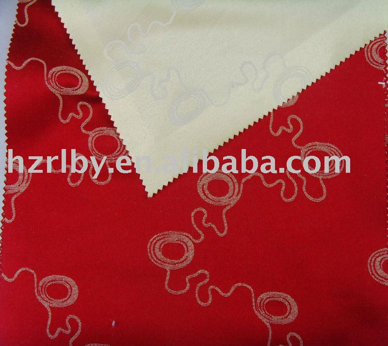 40% Polyester and 60% cotton woven jacquard mattress fabric
