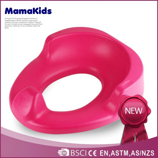 Plastic baby potty cute baby seat PP material potty 2015 hottest baby toilet trainer