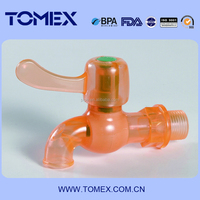 PVC Water Taps/ pp pvc abs Plastic Faucets/ Hot Sale taps