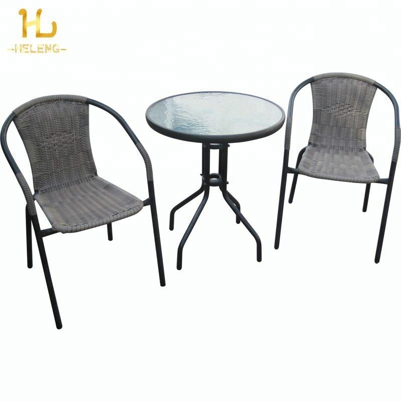 New Design Rattan Bistro Set Outdoor Rattan <strong>Furniture</strong>