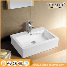 High quality custom cheap delicate art ceramic wash lavabo