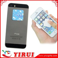 custom cellphone sticky screen microfiber cleaner