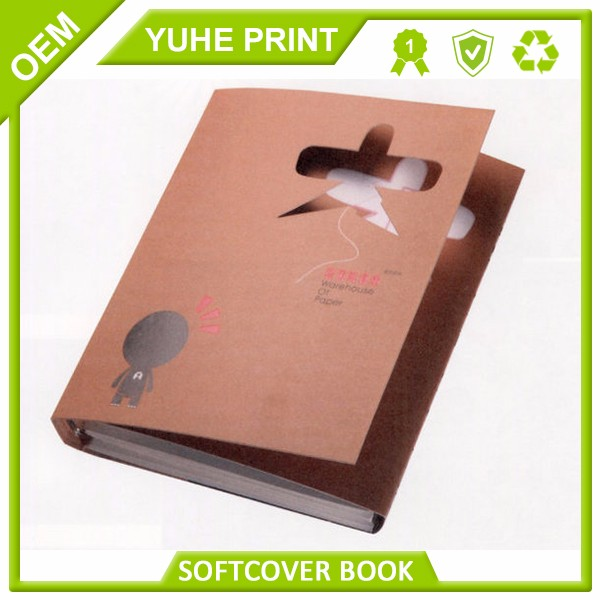 ECO friendly direct factory price from dongguan supplier wood-free paper film lamination waterproof book cover printing