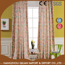Holiday Printed Cotton Window Curtains