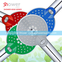 2015 New Shower Switch Wheel Gear Control 3-mode Hand Shower Head