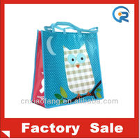 Pictures printing PET non woven shopping bag