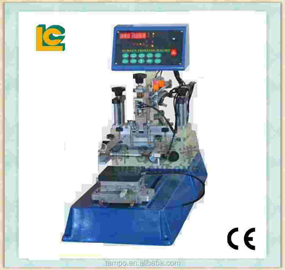 Silk Screen Plane Surface Printing Machine/ used screen semi automatic printing equipment