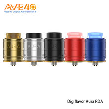 Latest Products Mini Electronic Atomizer Express Ali DigiFlavor Aura 24mm RDA Tank For Squonk MOD