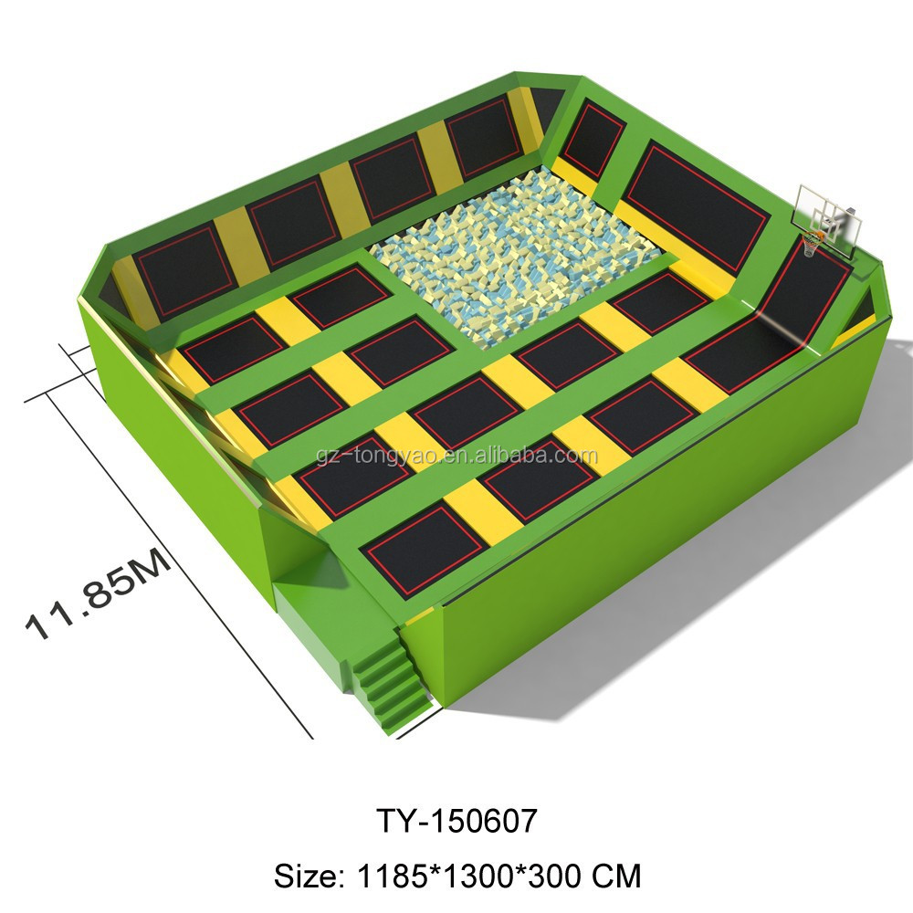Factory Price Boungee Jumping Enclosure Trampoline Tent