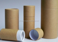 Eco disposable rolled edge kraft paper core tube