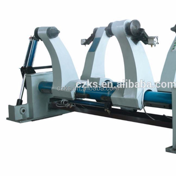 ZJ-Y1500 high speed hydraulic shaftless mill roll stand machine / corrugated cardboard mill roll stand for carton box