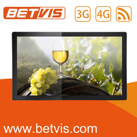 Widely-used Bus Media Advertising LCD Display 3G WIFI Wireless Network
