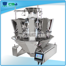 Automatic Snack Food Packing Machine Mini Combination Scale/11 hopper multihead weigher