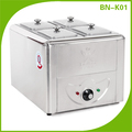 BN-K01 Well designed restaurant used food warmer machine soup bain marie