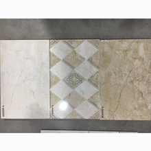 polished ceramic tile interior wall panel 25x50