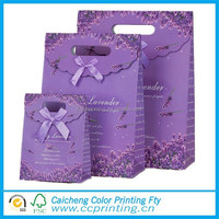 Top-sale die cut decoration handmade paper bag for christmas Gift