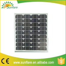 best solar cell 50w sunpower solar panel with fine price