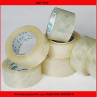 china bopp packing tape supplier water based acrylic transparent clear carton sealing bopp adhesive packing tape