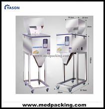 20-1200g Weighing and Filling Machine for Powder or Particle or Bean or Seed or Tea