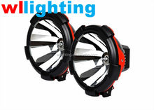 WLLIGHTING 9'' Xenon 55W 75W 100W 12V OffRoad Light HID Spot Light Fog Light Tuning Accessories for Cars