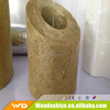Rock wool pipe use for insulation pipeline project