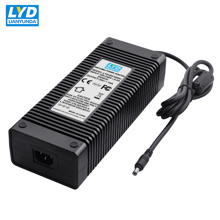 30v 10a dc power supply for electric self balancing scooter battery charger