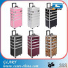 Vanity Make up Cosmetic Box Bag Hairdressing Beauty Trolley Case