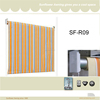 Window vertical fabric roll up blind