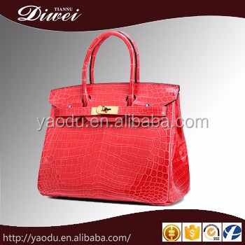 2016 Fashion Genuine Leather Handbag Wholesale In China For Woman