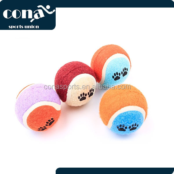 Dog Toy Ball for Dog Birthday Gift With Different Pictures and Colors for Free Sample