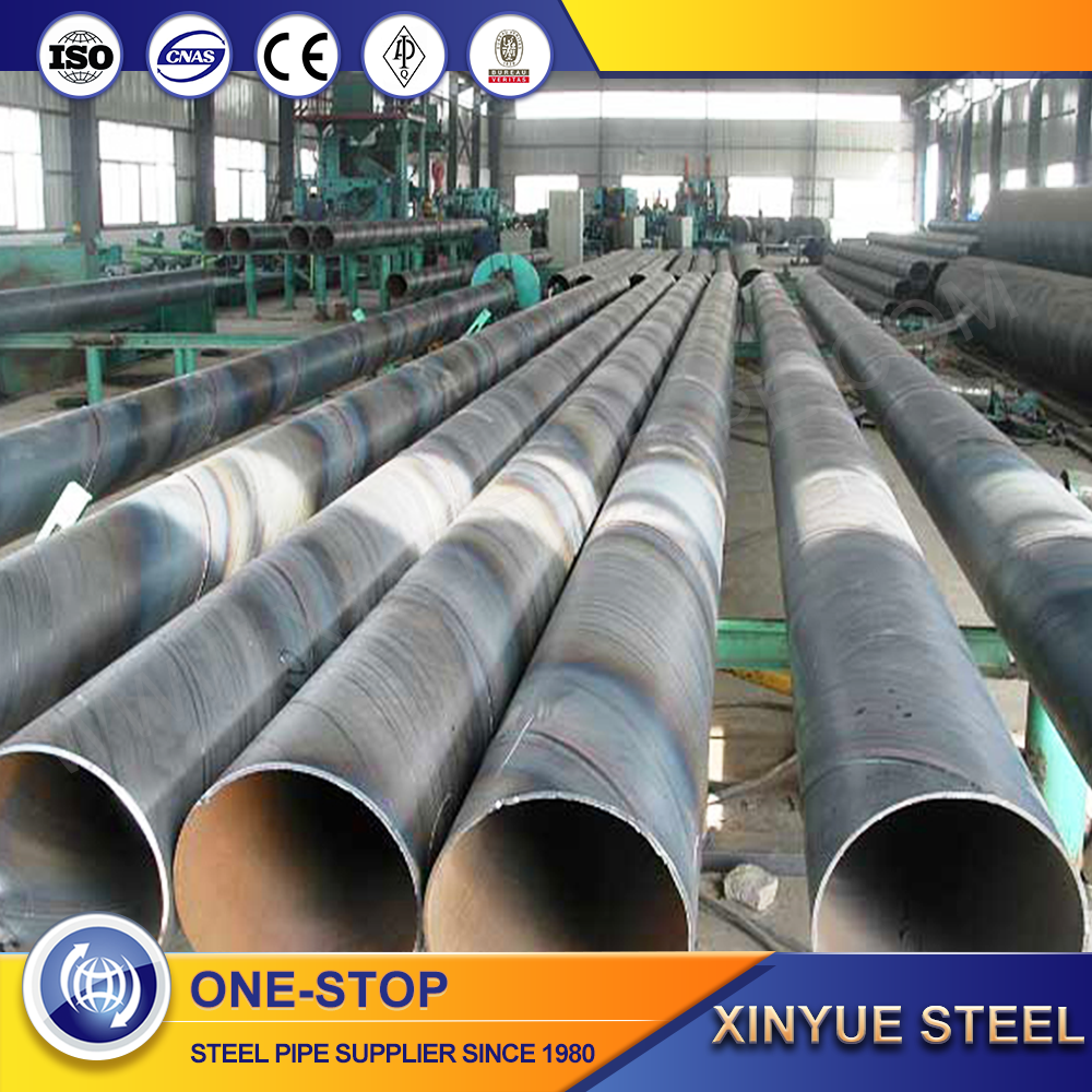 big diameter submerged arc welding 36 inch spiral water inlet pipe