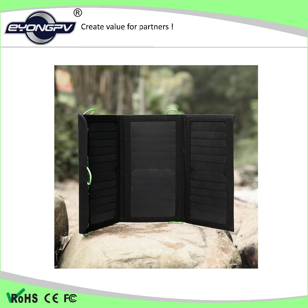 20w foldable solar panel charge bag with best price China supplier