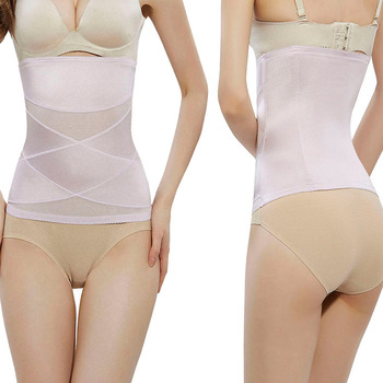 High Quality Mesh Breathable Strapless Slimming Private Label Waist Trainer Corset Shapewear