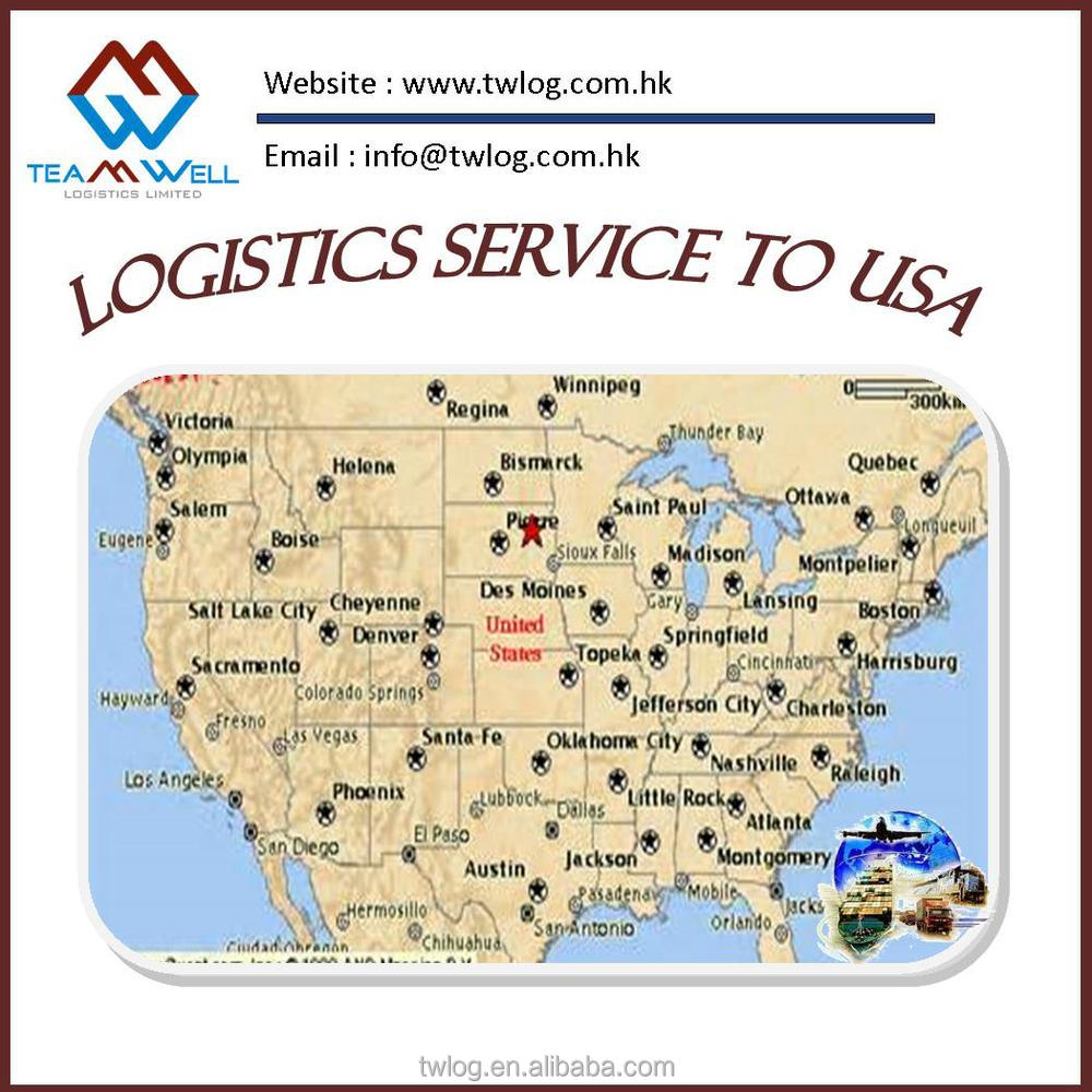 Sea Freight Logistics from Hong Kong to CONNECTICUT