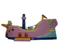 CE Commercial Inflatable Pirate boat inflatable pirate ship for sale