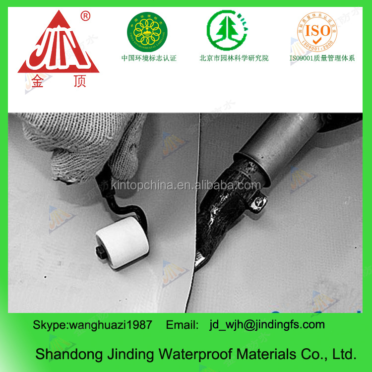Homogeneous PVC roofing waterproof membrane for roof