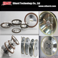 China vitrified bond diamond abrasive grinding wheel for PCD and PCBN