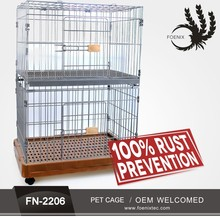Alibaba china Welded Wire Mesh Outdoor Large Portable Dog Cage Animal Cages