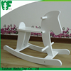 High quality cheap custom child wooden rocking horse toy