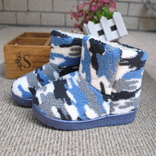 Wholesale anti-skidding snow winter camo boots with competitive price manufacturer