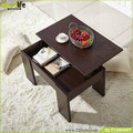 Foldable modern wooden coffee table goodlife wholesale