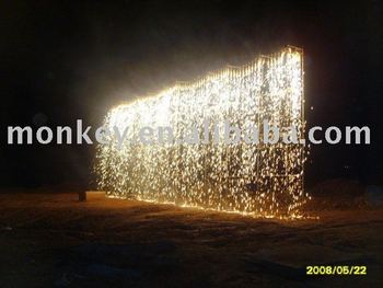 3M 30S Indoor & Outdoor Waterfall Stage Foutain Fireworks