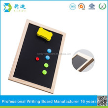 Lanxi xindi wood frame messaged chalk board for children