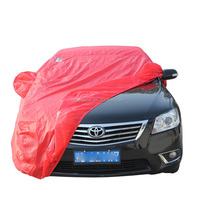 Custom Color Polyester Taffeta Sun UV Protection Standard Size Car Cover