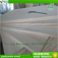 Custom wholesale Cheap price paulownia wood board