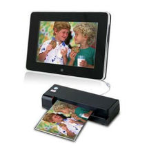 New One-Touch Portable Photo Business Card Scanner