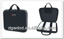 2013 Dongguan Black Cloth Cover&Well Protective EVA Laptop Case