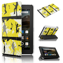 Slim case with Magnetic for Kindle New Fire 7 2015