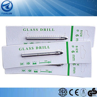 6 MM Triangle pointed glass drill bit